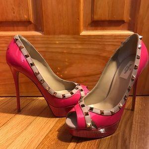 Valentino pink stilettos